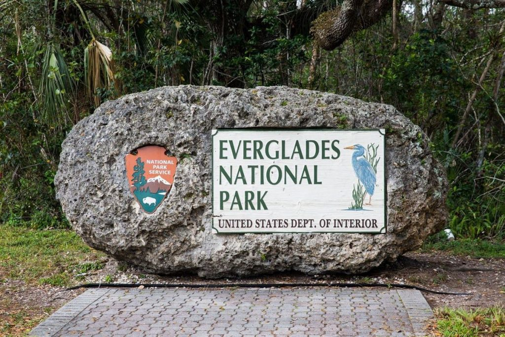 The Everglades National Park Miami
